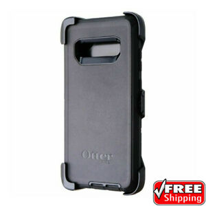 OEM OtterBox Defender Series Heavy Duty Black Case Samsung Galaxy S10+ Plus
