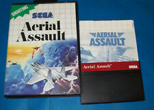 Sega Master System Aerial Assault Euro Case US Manual