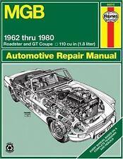 Haynes Auto Repair Manual for 1962-1980 MGB 1.8L  #66010 Ships Fast!
