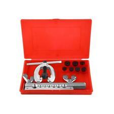 10Pcs Double Flaring Brake Line Tool Kit Tubing Flare Pipe Car Truck Set w/ Case