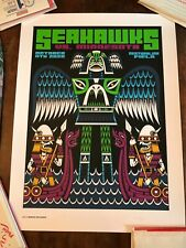 Seattle Seahawks GameDay Poster Minnesota Vikings 252/315 Limited  Rare