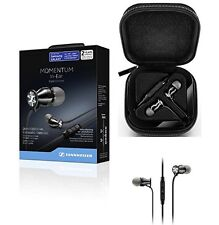 New Sennheiser M2IEi Momentum In Ear Headphones for Android Smartphones BLACK UK