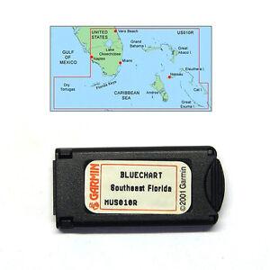 Garmin BlueChart Southeast Florida MUS010R Data Card Marine Chart - 010-C0024-00