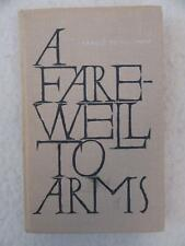 Ernest Hemingway A FAREWELL TO ARMS Progress Publishers Moscow 1976