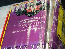 CARRIAGE WORKS 41412 BILLET SILVER/BLACK GRILLE INSERT FOR 99-04 FORD SUPER DUTY