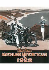 1928 Matchless motorcycles poster