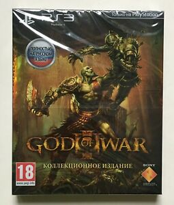 God of War 3 Collectors Edition (PlayStation 3) Factory Sealed Brand New Rare
