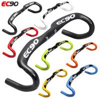 EC90 3K Full Carbon Fiber Road Bike Handlebar Bend Aero Racing Drop Handle Bar