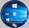 LATEST Windows 10 64-bit All Versions Install Reinstall Recovery DVD Disc