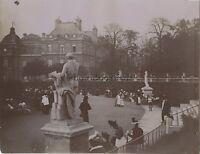 Jardin du Luxembourg Mode Exposition universelle de Paris 1900 Vintage citrate