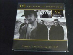 U2 THE SEEDS OF JOSHUA TREE BOX LIMITED EDITION BOX 4LP
