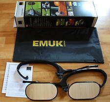 EMUK Wohnwagenspiegel Caravanspiegel Anhängerspiegel BMW X5 X6 E70 100070 NEU
