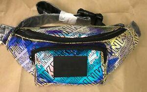 Victoria's Secret PINK Bling Iridescent Oversized Belt Bag Fanny Pack Rare Gift