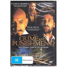 DVD CRIME AND PUNISHMENT Ben Kingsley Patrick Dempsey 1988 Drama Novel R4 [BNS]