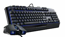 Cooler Master SG3030 Devastator 2 UK Layout Blue LED Keyboard + Mouse Game Combo