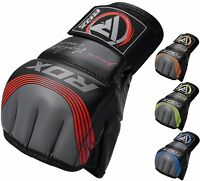 RDX MMA Gloves Grappling Sparring Fighting Martial Arts Fight Training Boxing T