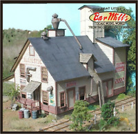 BAR MILLS Buildings 942 HO Majestic Hardware & Feed Laser-Cut Model Railroad Kit