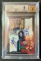 JAKE LONG & SAM BAKER 2008 UD Draft #228 24/25 BGS 9 Upper Deck Dual Rookie Auto