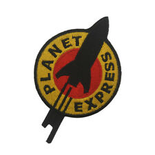 Futurama PLANET EXPRESS Ship Sew Iron On Patches Embroidered Badge Craft Patch