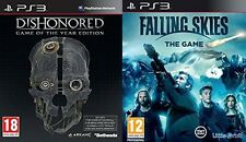 Dishonored Game of the Year Edition & falling skies   PS3 PAL   new&sealed