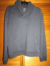 H & M men's? women's? unisex pullon cowl neck sweatshirt top Large  used