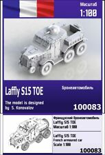 """ZEBRANO"" 100083 Laffly S15 TOE French armoured car 1/100"