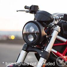 Motodemic Evo2 LED Headlight Conversion 08-14 Ducati Monster 696 796 1100 Brush