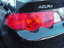 02-04 ACURA RSX TAIL LIGHT SIGNAL PRECUT REDOUT TINT COVER RED OVERLAYS