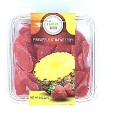 Nature To Go Dried Fruit Pineapple Strawberry 8 oz. Fresh and New
