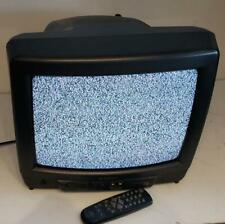 "Sansui 13"" Tvm1316F Crt Tv Front Av inputs Retro Gaming w/ Remote 2006 Cc Aux"
