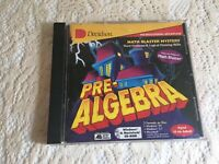 Pre- Algebra  Word Problems and Logical Thinking Skills by Davidson CD-ROM 1994
