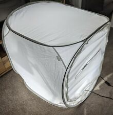 Photographic Light Tent including lights and spare bulbs.