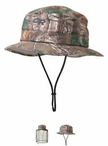 Outdoor Research Men's MOSQUITO NET Bug Helios Realtree Camo Sun Hat, Medium