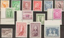 Australia. MNH **Yv 110/22. 1937. Serie completa, catorce valores. MAGNIFICA. (