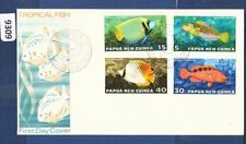 Fish Papua New Guinean Stamps