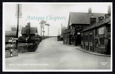 c.1940 Pear Tree Pub Esso Petrol Station Woodhouse Eaves Leicestershire Postcard