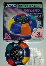 VTECH WIZARD Intelligent skill games RARE only one on ebay at time of listing