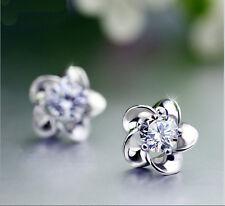Women Fashion Jewelry Crystal Clear Crystal Zirconia Rhinestone Earrings