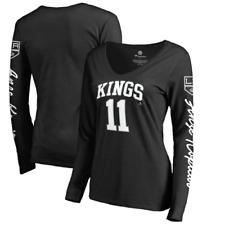 Los Angeles Kings T-Shirt (Size L) Women's NHL Black Number 11 T-Shirt - New