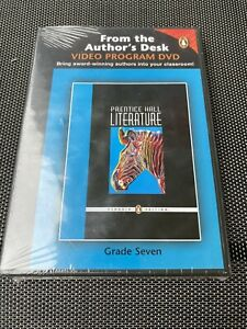 Prentice Hall LITERATURE Grade 7 Seven - From the Author's Desk Video DVD - NEW