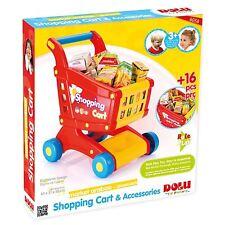 Kids Dolu Shopping Cart & Accessories 6058