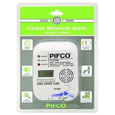 Carbon Monoxide Detector Alarm with Digital LCD Display Chemical CO Lifesaver