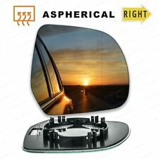 BACK PLATE LEFT HAND SIDE FITS NISSAN LEAF 2010 WING MIRROR GLASS CONVEX