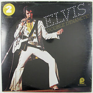 ELVIS PRESLEY Double Dynamite  LP 1975 ROCK (STILL SEALED/UNPLAYED)