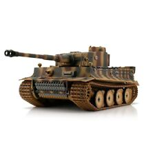 1:16 Torro German Tiger I Early RC Tank Airsoft 2.4GHz Hobby Edition Camouflage