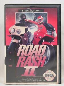 Road Rash II 2 Case (SEGA Genesis) Authentic BOX ONLY!