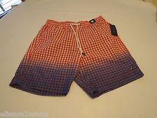 Men's swim trunks board shorts Tommy Hilfiger large poppy red 637 checks 7869679