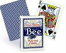 BEE PLAYING CARDS CLUB SPECIAL No.92 REGULAR INDEX BLUE NEW SEALED.