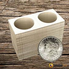 25 SILVER DOLLAR Mylar Cardboard Coin Holder Flips - Coin Supplies
