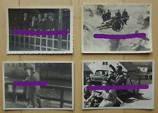 F30 Neun Fotos Wehrmacht Haubitze Blitzmädchen auf Urlaub Vormarsch Portrait
